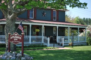 Applesauce Inn Bed and Breakfast in Beautiful Bellaire, Michigan.