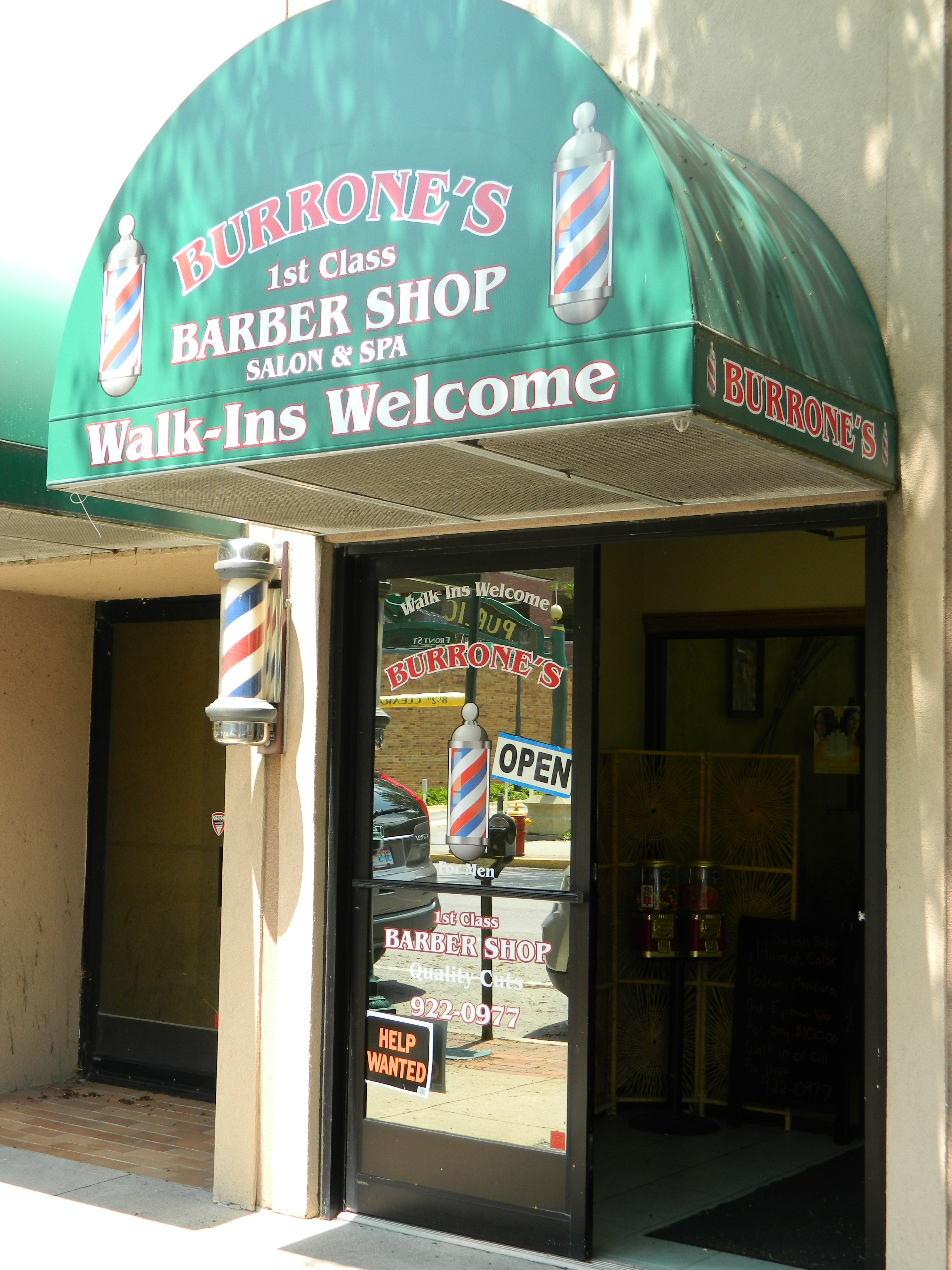 Burrone's Barber Shop Salon & Spa