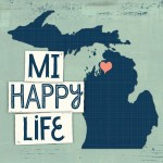 MI Happy Life of Charlevoix Michigan home, cottage, cabin, decor.